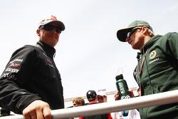 Michael Schumacher, Mercedes GP F1 Team, Heikki Kovalainen, Team Lotus