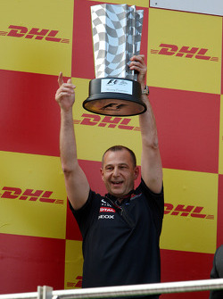 Podium: Mark Ellis, Red Bull Racing