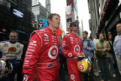 Scott Dixon and Darren Manning