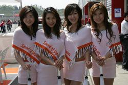 Charming hostesses