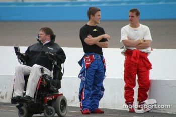 Sam Schmidt watches pitlane action