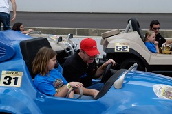 Al Unser Jr. wonders what he was supposed to push