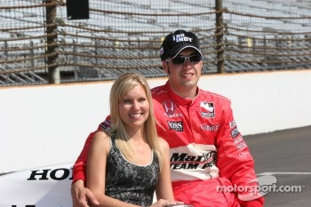 Mr. and Mrs. Sam Hornish Jr.