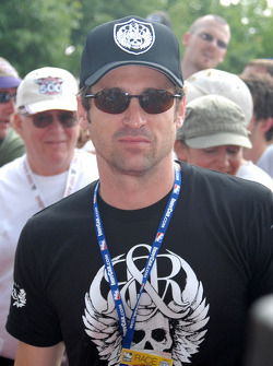 Patrick Dempsey, co-owner of Vision Racing