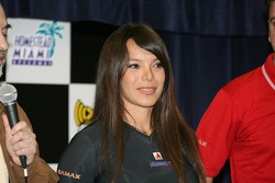 Press conference: Milka Duno announces her praticipation in the IndyCar series