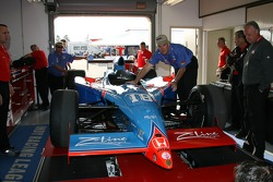 Car of Jimmy Kite at tech inspection