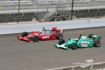 Buddy Lazier and Ed Carpenter