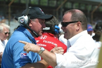 Brian Barnhart and Chip Ganassi