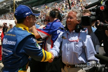 John Andretti with father Aldo