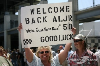 Message for Al Unser Jr.