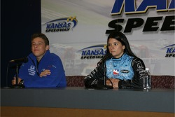 Press conference: Marco Andretti and Danica Patrick