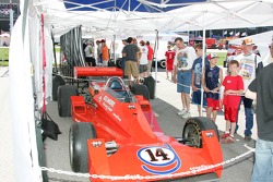 A.J. Foyt 50th anniversary display