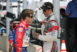 Marco Andretti and Tomas Scheckter