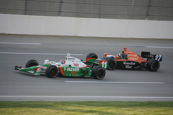 Tony Kanaan and Dario Franchitti