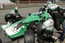 Tires off for Ed Carpenter