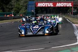 Pace lap: #20 Quifel-ASM Team Zytek 09SC: Miguel Amaral, Olivier Pla