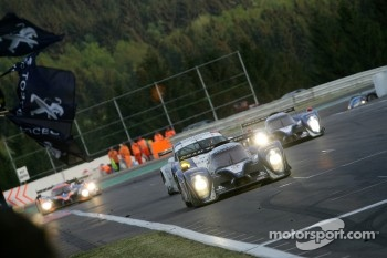 #7 Peugeot Sport Total Peugeot 908: Alexander Wurz, Marc Gene, Anthony Davidson takes the win