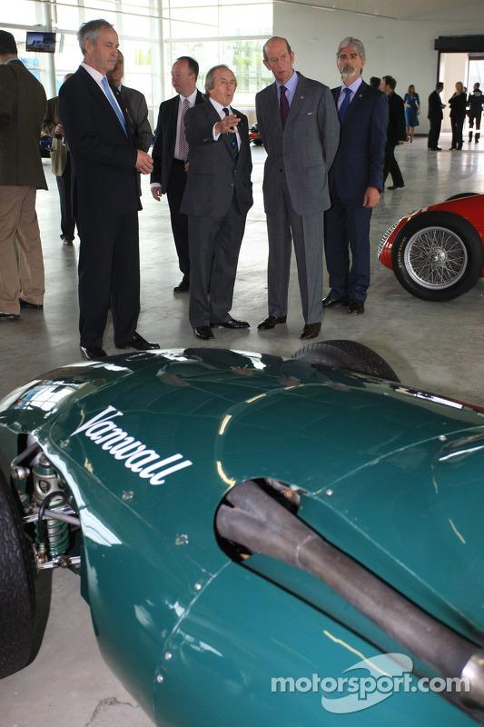 Sir Jackie Stewart and Damon Hill
