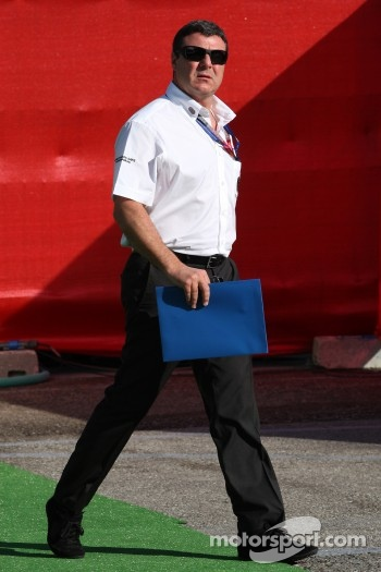 Mark Blundell, FIA Steward