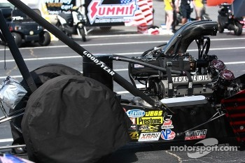 top fuel machine poised for round one