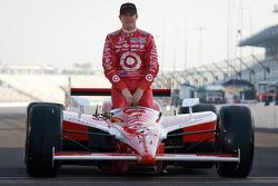 Front row photoshoot: second place Scott Dixon, Target Chip Ganassi Racing