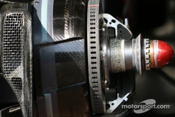 McLaren Mercedes Technical detail
