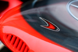 McLaren Mercedes, MP4-26, front wing detail