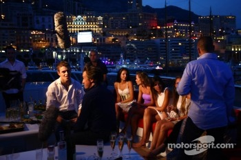 Kingfisher Force India yacht party