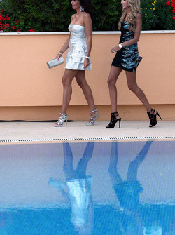 Tamara and Petra Ecclestone, Amber Lounge Fashion