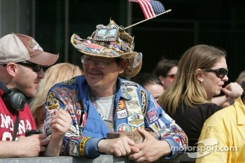 An Indy 500 fan