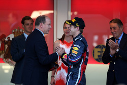 Sebastian Vettel, Red Bull Racing and Prince Albert of Monaco