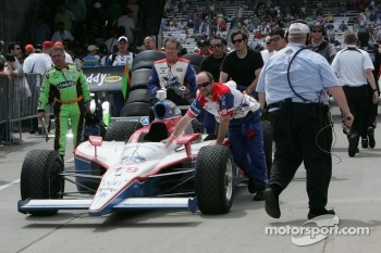 Car of Alex Lloyd, Dale Coyne Racing