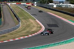 1st lap: #1 Klaas Zwart, Benetton B197 F1 1997