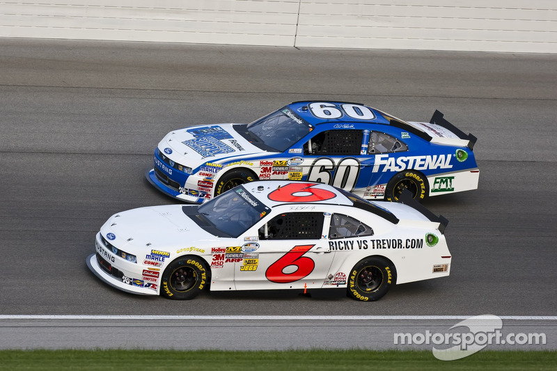Ricky Stenhouse Jr., Roush-Fenway Ford and Carl Edwards, Roush-Fenway Ford