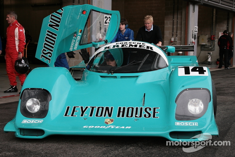 A non-starter: beautiful Kremer Porsche 962C