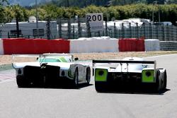 #140 Jaguar XJR5B: Don Miles; #31 Mercedes C11: Gareth Evans, Bob Berridge