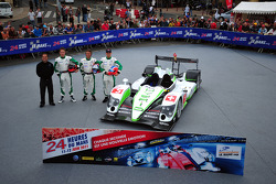#5 Hope Racing Oreca Swiss Hy Tech-Hybrid: Steve Zacchia, Jan Lammers, Casper Elgaard