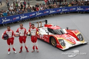 #12 Rebellion Racing Lola B 10/60 Coupe-Toyota: Nicolas Prost, Neel Jani, Jeroen Bleekemolen