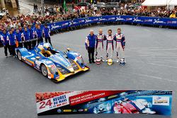 #48 Team Oreca Matmut Oreca 03-Nissan: Alexandre Pr_©mat, David Hallyday, Dominik Kraihamer