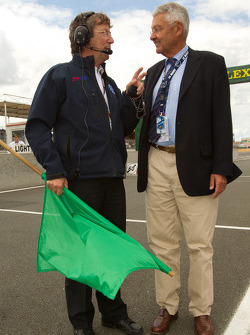 Daniel Poissenot and ACO President Jean-Claude Passart