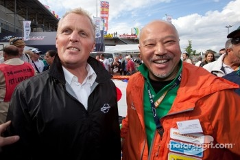 Johnny Herbert and Yojiro Terada