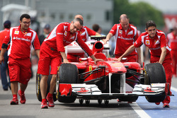 Scuderia Ferrari on pitlane
