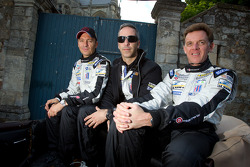 Christophe Bouchut, Joao Barbosa and Scott Tucker