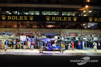 #48 Team Oreca Matmut Oreca 03-Nissan: Alexandre Prémat, David Hallyday, Dominik Kraihamer