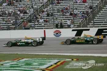 Takuma Sato & Tony Kanaan, KV Racing Technology-Lotus