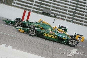 Tony Kanaan & E.J. Viso, KV Racing Technology-Lotus