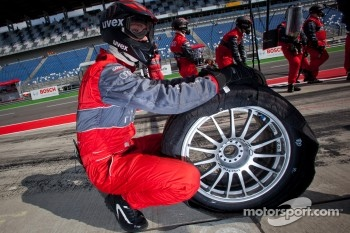 Audi Sport Team Abt Sportsline tire changer