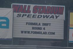 Wall Stadium Speedway sign