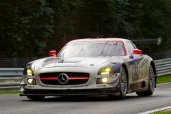 #32 Heico Motorsport Mercedes-Benz SLS AMG GT3: Lance David Arnold, Alexandros Margaritis, Christopher Brück, Christiaan Frankenhout