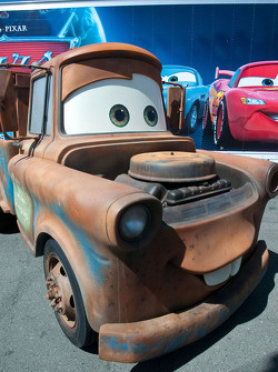 Cars character and real-life show car